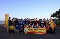 セントレアとDHLジャパン、空港島で清掃活動の画像
