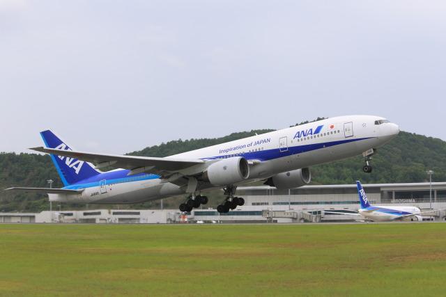 ニュース画像 1枚目:広島空港 (安芸あすかさん撮影)