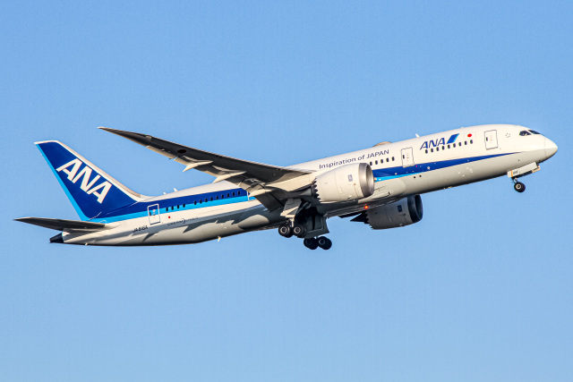ニュース画像 1枚目:ANA 787-8(ぐっちーさん撮影)