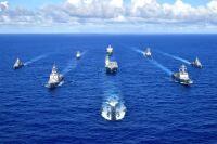 日米豪韓、海上演習「パシフィック・ヴァンガード」実施の画像