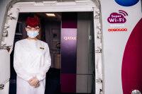 カタール航空、機内スーパーWi-Fi無料バウチャープレゼントの画像