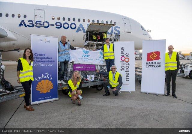 ニュース画像 1枚目:エアバス財団、ベイルートに人道支援物資を輸送