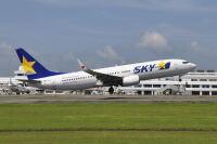 スカイマーク、9月連休に追加便 7路線で計66便の画像