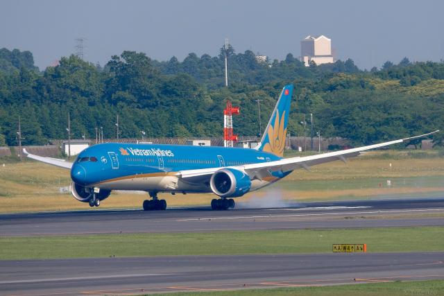 ニュース画像 1枚目:ベトナム航空 787 イメージ(Y-Kenzoさん撮影)