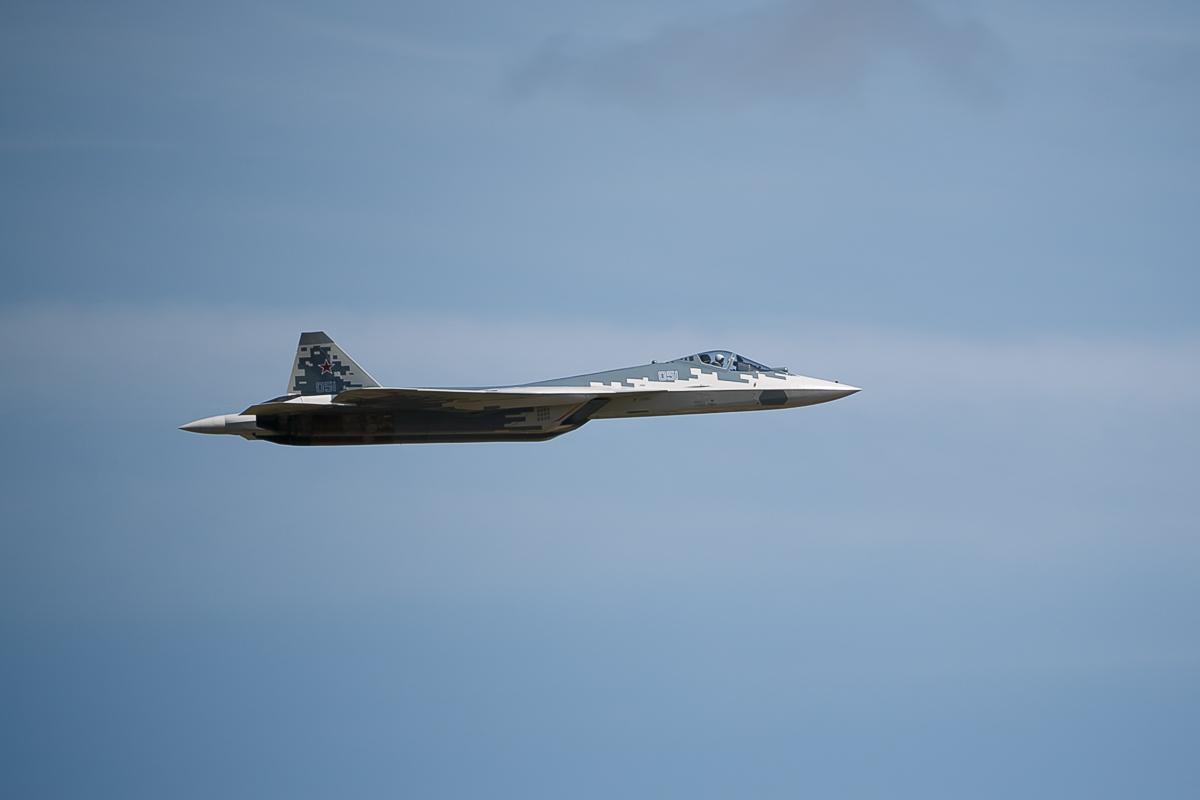 ニュース画像 1枚目:Su-57E