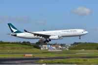 キャセイパシフィック航空、成田/香港線 10月も週3便の画像