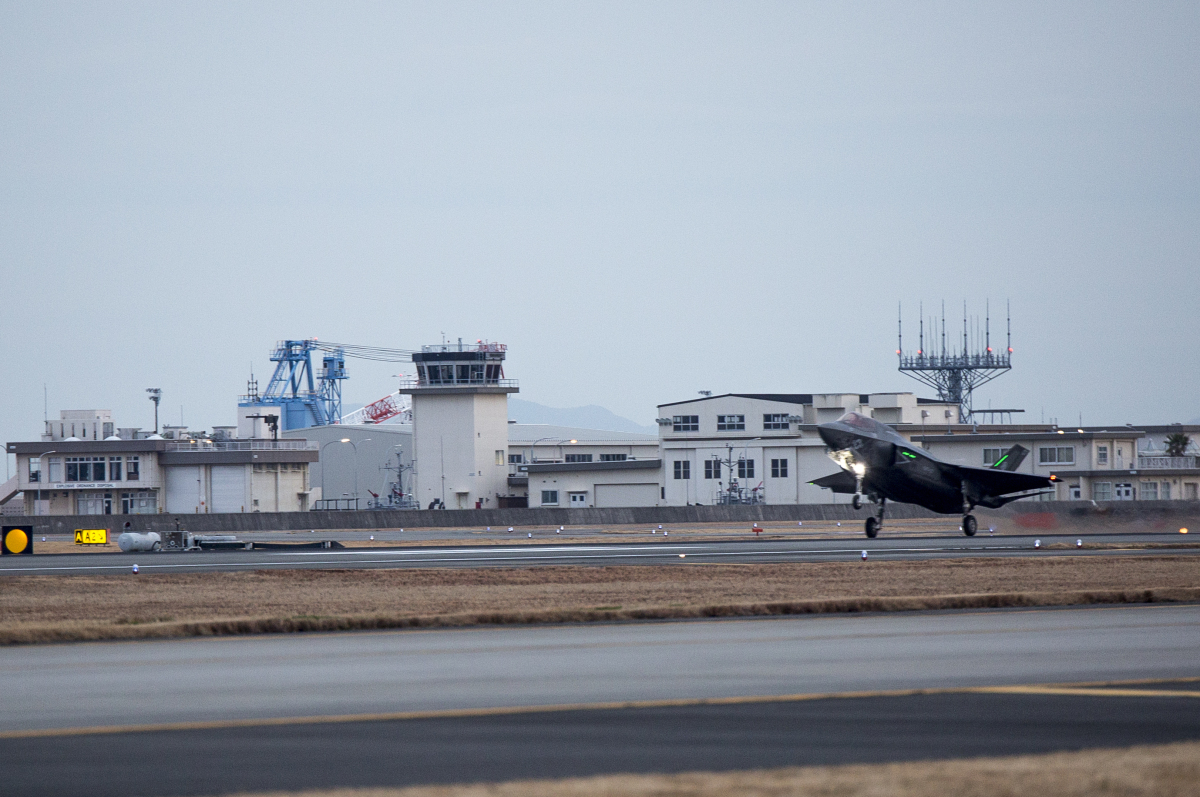 ニュース画像 1枚目:2017年に岩国へ配備された際のF-35B