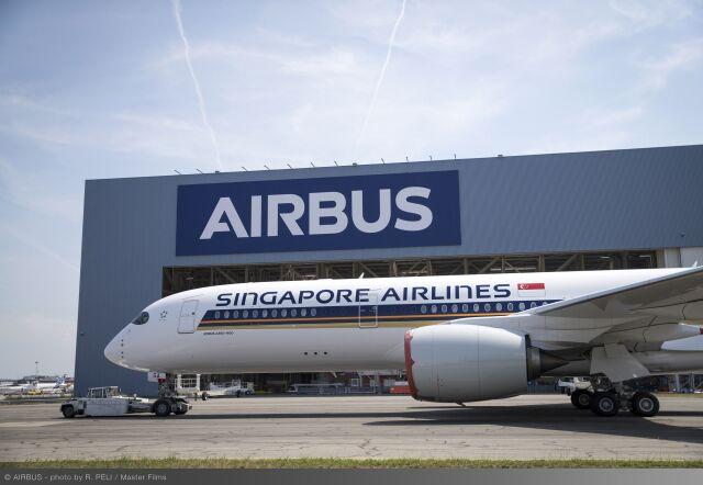ニュース画像 1枚目:シンガポール航空 A350-900ULR