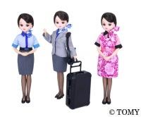 ニュース画像 2枚目:A-style販売 新制服「ANAオリジナルCAリカちゃん」