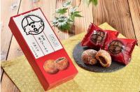 北海道内6空港のBLUE SKY、「百年あんドーナツ」販売の画像