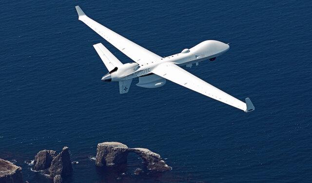 ニュース画像 1枚目:南カリフォルニア沖を飛行するシーガーディアン