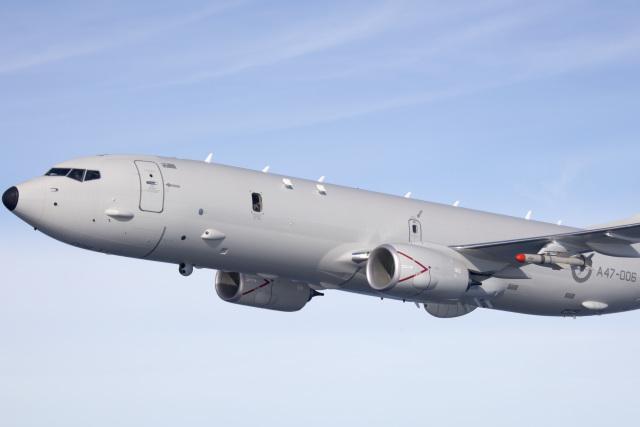 ニュース画像 1枚目:P-8Aポセイドン、ハープーン・ミサイル搭載