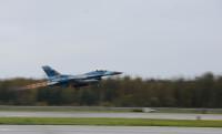 アグレッサーF-16、バリアント・シールド2020へ出発の画像