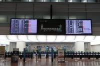 ニュース画像:台風12号、関東近く通過 羽田・茨城発着便に影響