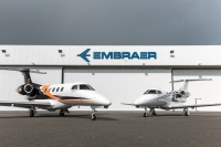 ニュース画像:エンブラエル、フェノム100EV・300Eをブラジル企業に納入