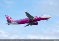ニュース画像:ピーチ、10月の国内線減便 運航率63%