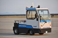 ANA、佐賀空港で自動運転トーイングトラクター試験運用の画像