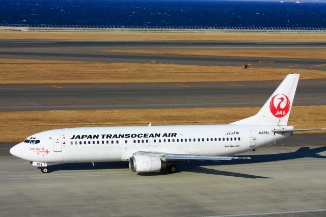 ニュース画像 1枚目:セントレアに就航するJTA 737-800 (契丹さん撮影)
