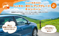 ANA、羽田/鳥取・米子線でレンタカーキャンペーンの画像