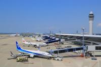 セントレア、8月搭乗者数 国内線は7月比で1万人増 国際線200人減の画像