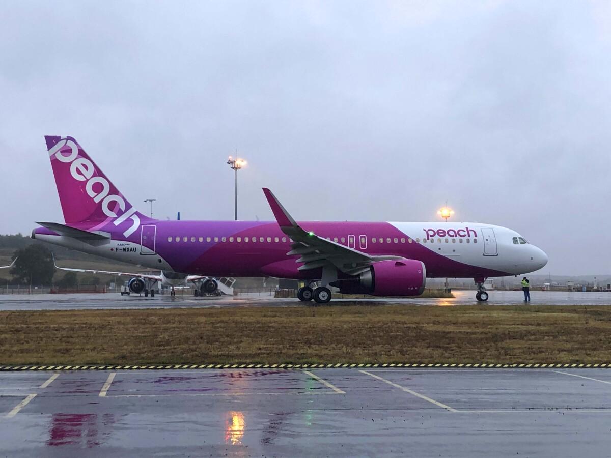 ニュース画像 1枚目:ピーチ A320neo初号機