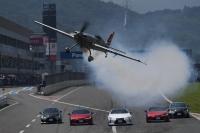 ニュース画像:室屋選手、10月3日・4日 富士スピードウェイでフライト披露
