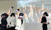 JAL、VR活用 客室乗務員は複数人訓練も可の画像