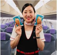 ニュース画像:FDA、神戸/青森線で「青天のフィナンシェ」提供