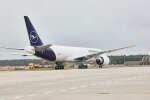 ニュース画像 8枚目:ルフトハンザ・カーゴ 777F 後ろから