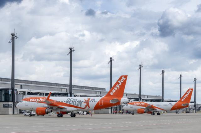 ニュース画像 1枚目:ベルリン・ブランデンブルク空港 運用テストの様子