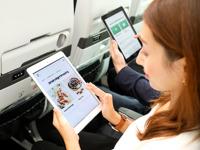 ニュース画像:ZIPAIR、機内販売品や軽食のスマホ注文が可能に LCC初
