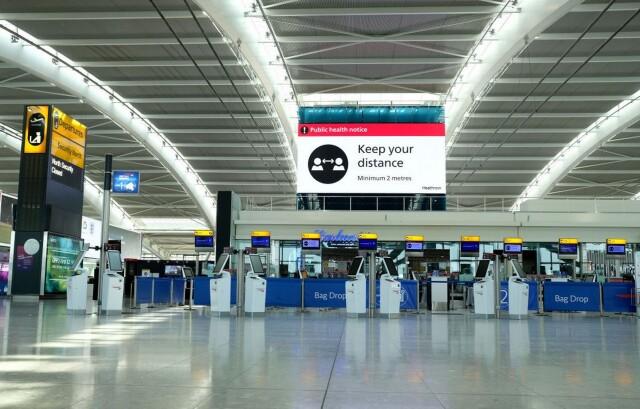 ニュース画像 1枚目:ロンドン・ヒースロー空港 イメージ