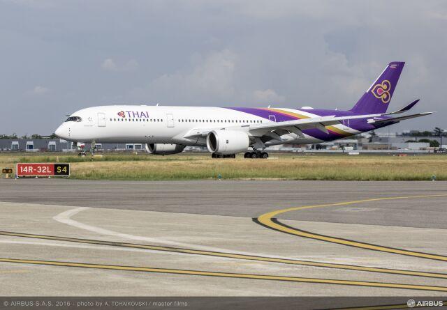 ニュース画像 1枚目:タイ国際航空 A350