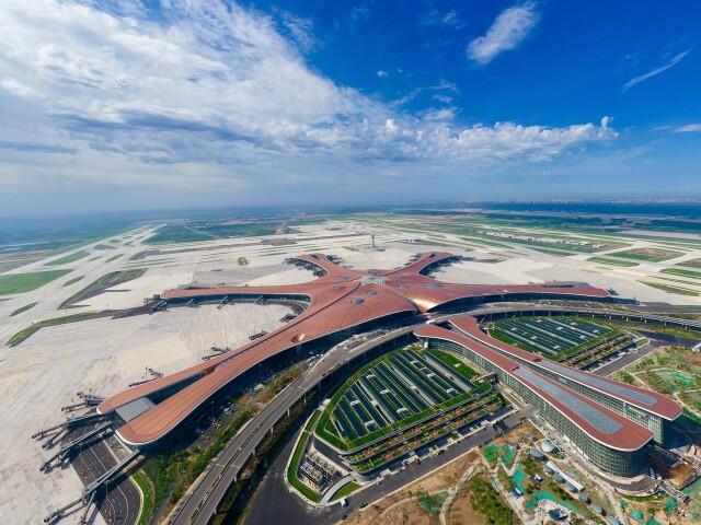 ニュース画像 1枚目:北京大興国際空港