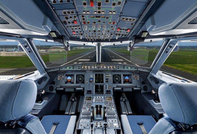 ニュース画像 1枚目:A320コクピット イメージ
