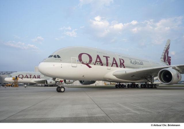 ニュース画像 1枚目:カタール航空 A380