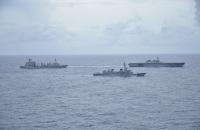 かが・いかづち、アメリカ海軍と南シナ海で戦術訓練の画像