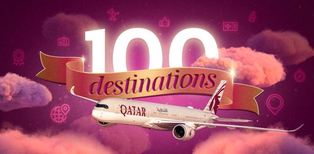 ニュース画像 1枚目:カタール航空 就航100都市に回復
