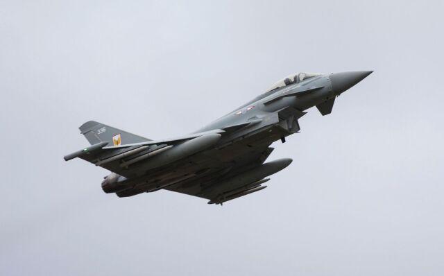 ニュース画像 1枚目:イギリス空軍タイフーン
