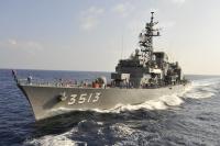 練習艦「はたかぜ」と「しまゆき」、下関で特別公開の画像