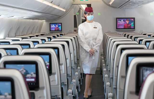 ニュース画像 1枚目:カタール航空の客室乗務員