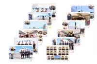 ニュース画像:北海道エアシステム、初カレンダー主役はサーブ 期間限定で機内販売