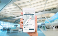 ニュース画像:羽田空港、ターミナル内の経路案内マップ提供 専用アプリ不要