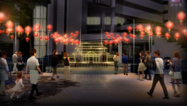ニュース画像 1枚目:首里城 うむいの燈プロジェクト「首里城 うむいの燈モニュメント」イメージ