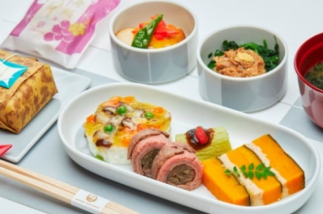 ニュース画像 1枚目:11月JAL国内線ファーストクラス機内食