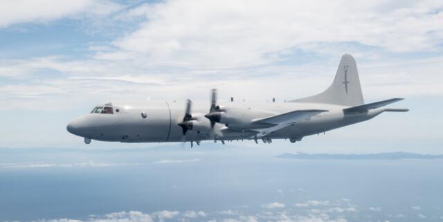 ニュース画像 1枚目:ニュージーランド空軍 P-3K2哨戒機