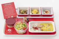 ニュース画像 2枚目:エコノミークラス 機内食イメージ