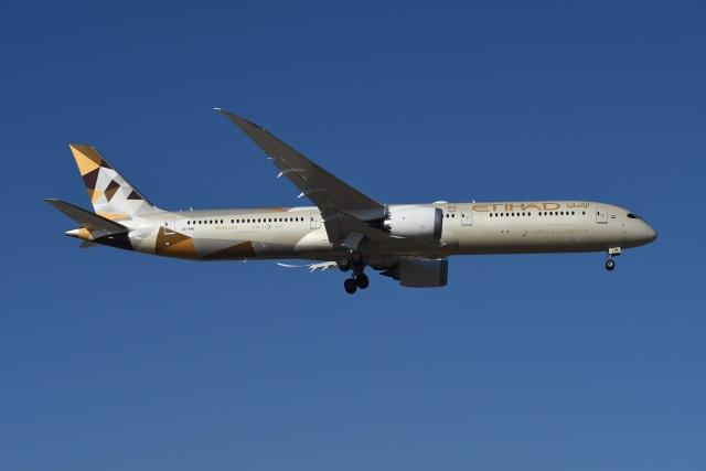 ニュース画像 1枚目:エティハド航空 787-10 イメージ (たっしーさん撮影)