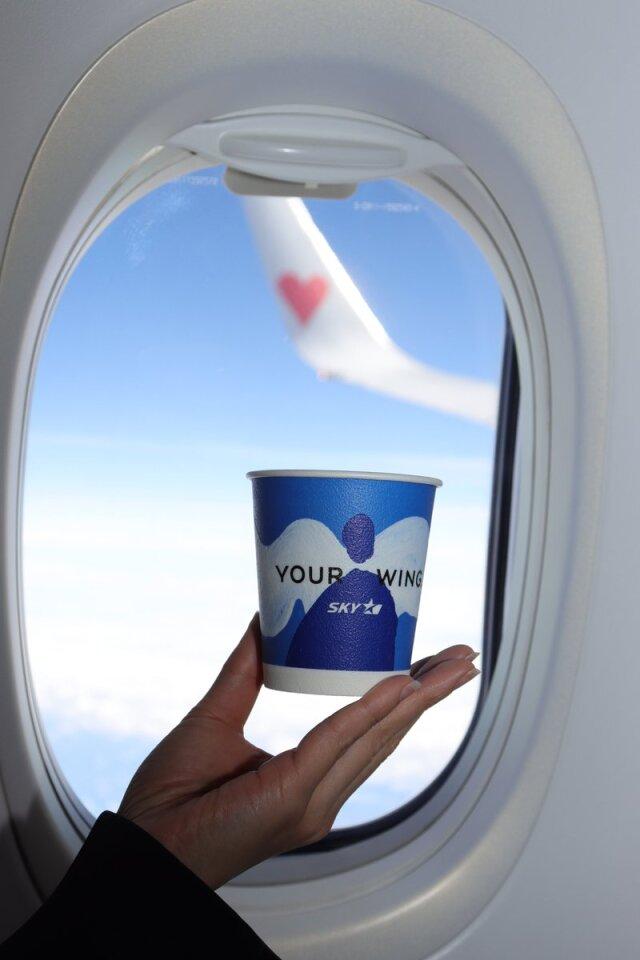 ニュース画像 1枚目:スカイマーク 無料提供のコーヒー