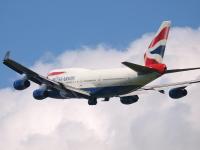 ニュース画像:ブリティッシュ・エアウェイズの747、1機が新たな活躍の場
